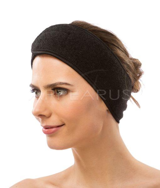 Stretchable Spa Headband / Black