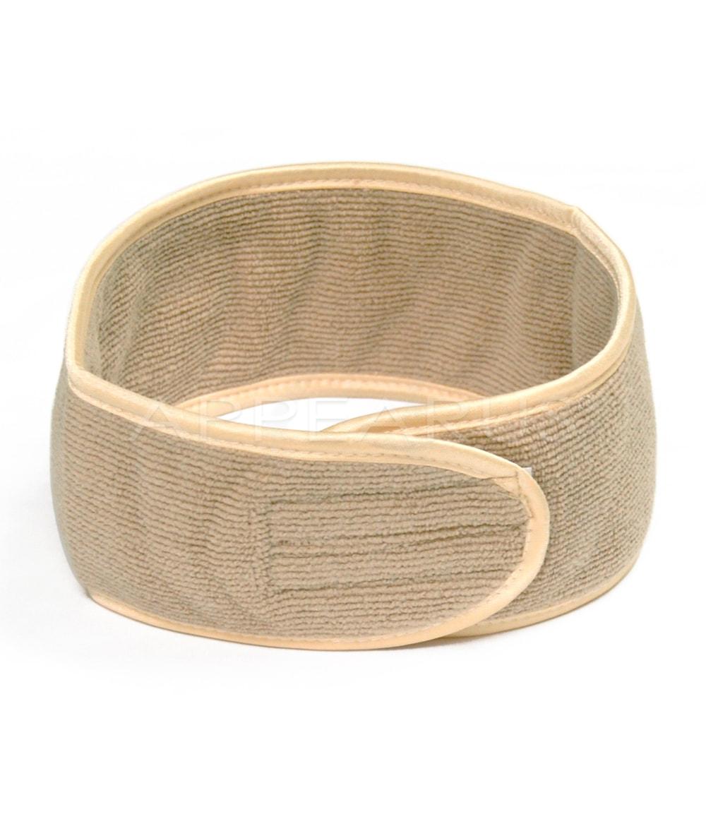Microfiber Spa Headband / Camel