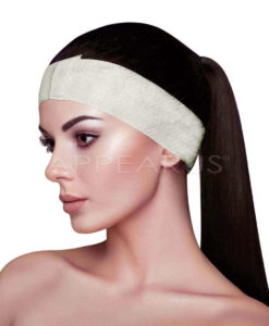 Disposable Velcro Headband / 100 Pack | Appearus