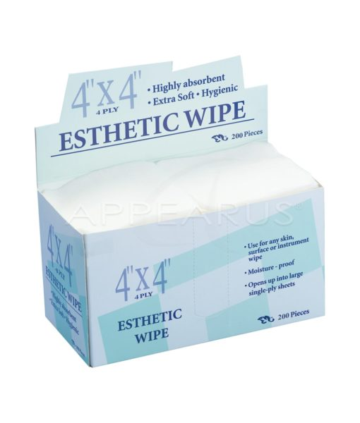 4x4 Esthetic Wipe / 200 Pack | Appearus