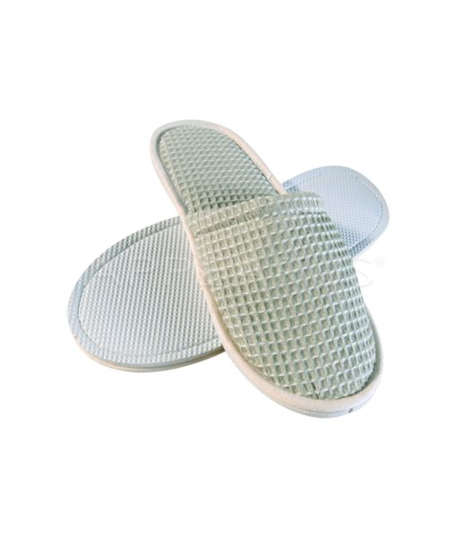 Ladies Petite Size Waffle Slippers   Appearus