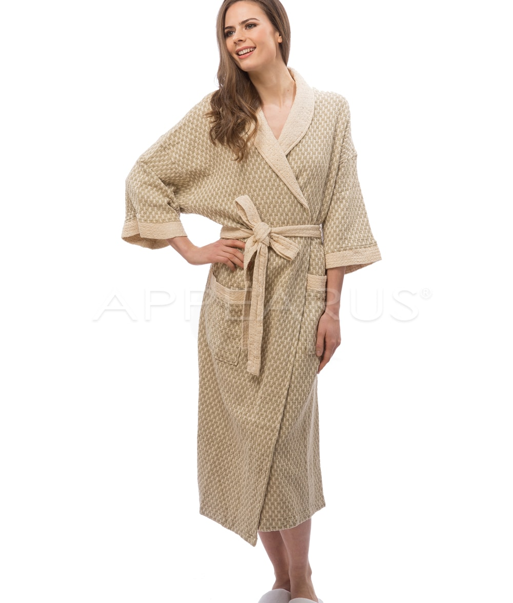 Box Weave Spa Robe XXL