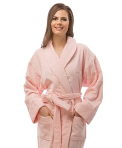Plush Velour Spa Robe | Appearus