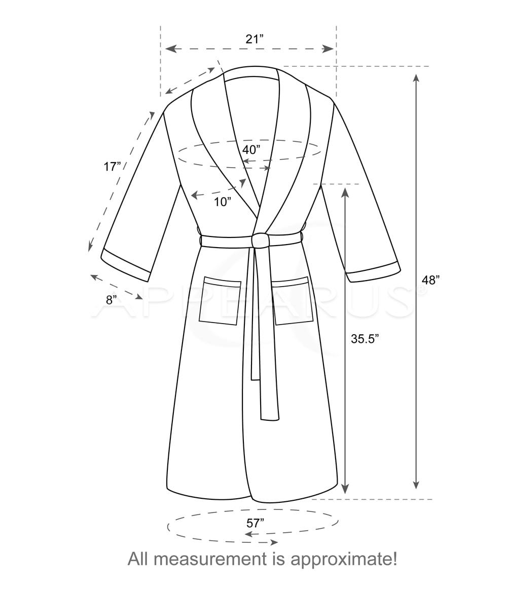 Microfiber Spa Robe   Appearus