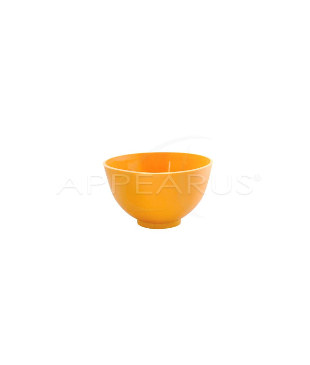Orange Rubber Mixing Bowl | Appearus