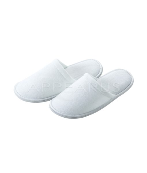 Fine Terry Slippers / Closed Toe | Appearus