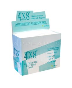 4x8 100% Cotton Pads | Appearus
