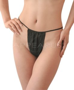 Disposable Bikini / Black | Appearus