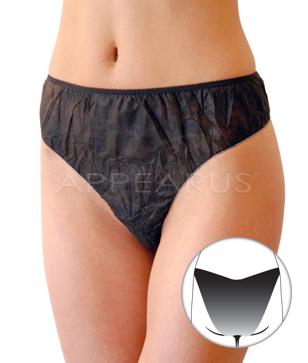 7bbf8035a7528c Ladies Disposable Brief – Appearus Products