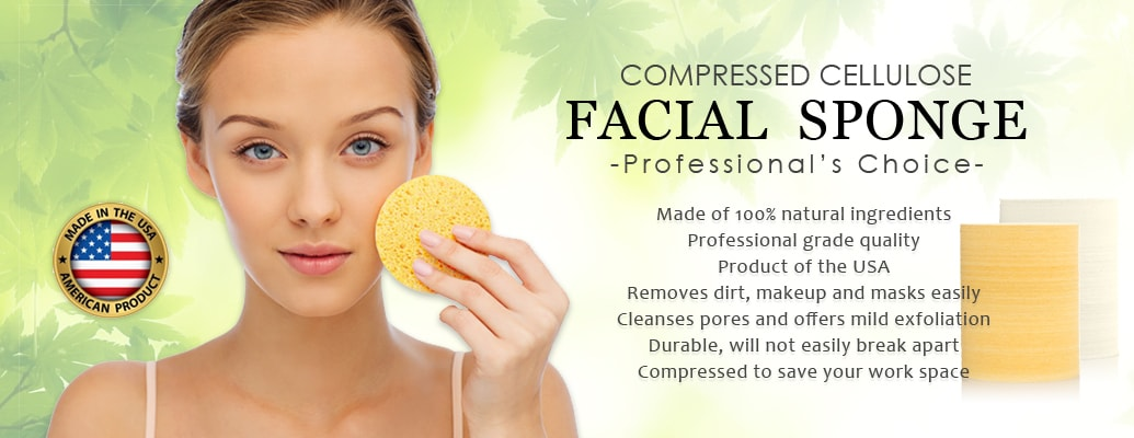 Compressed Cellulose Facial Sponges | Appearus