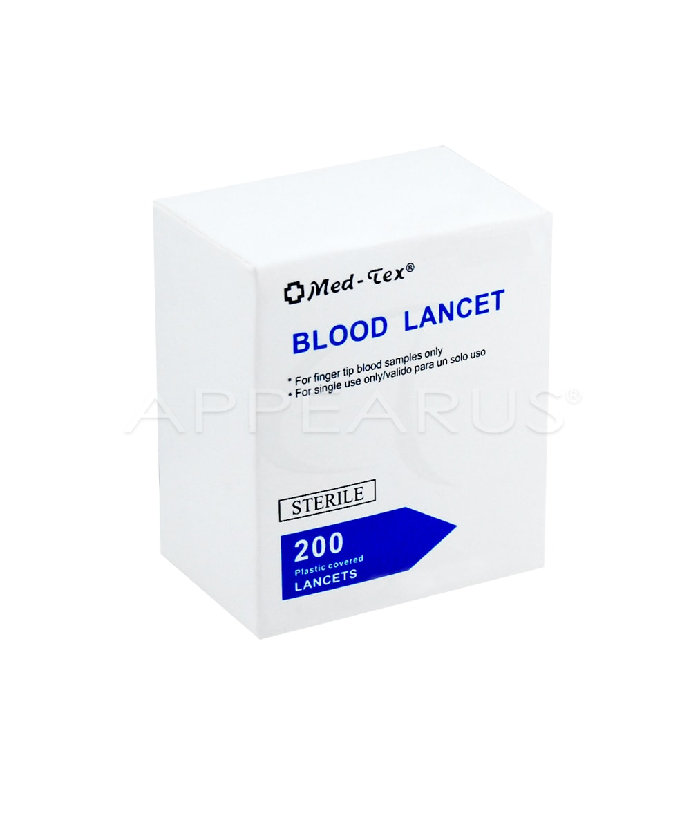 Sterile Plastic Lancet | Appearus