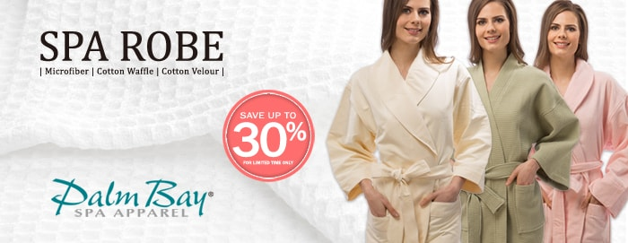 Palmbay Spa Robe | Appearus