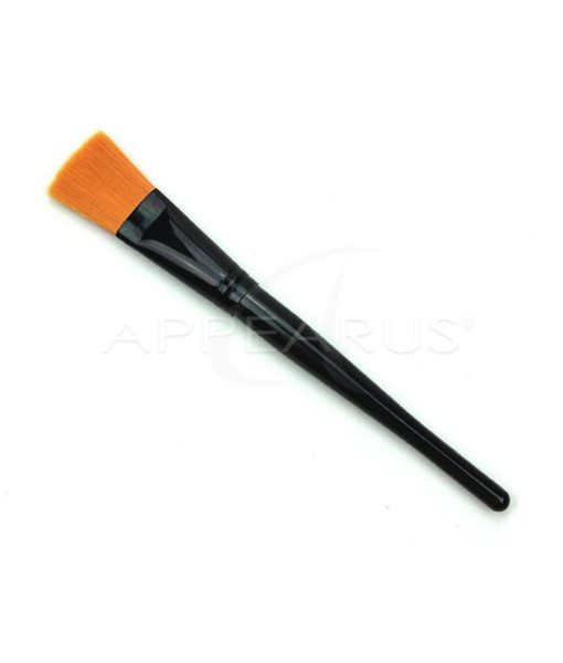 Flat Mask Brush with Black Handle | Appearus